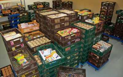 Rotaract Club  sammelt für die Tafel Lebensmittel