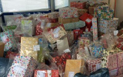 Geschenke für 480 Kinder