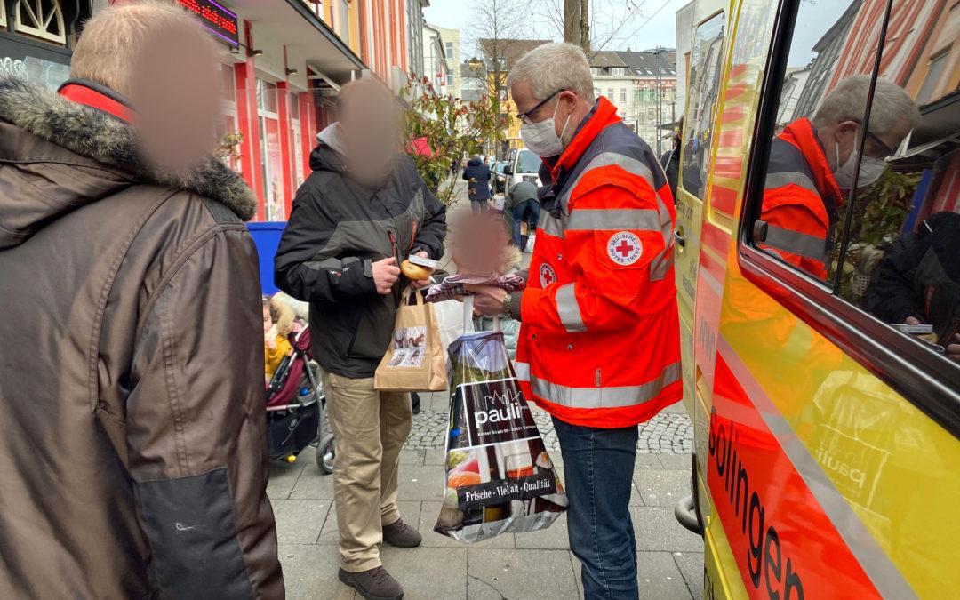 MediMobil mit Hilfsgütern unterwegs